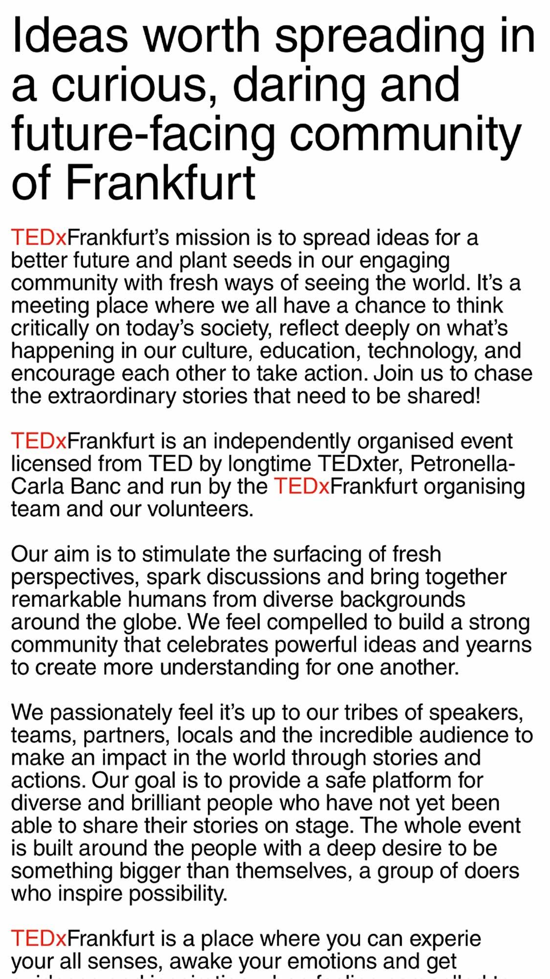 TEDX 8