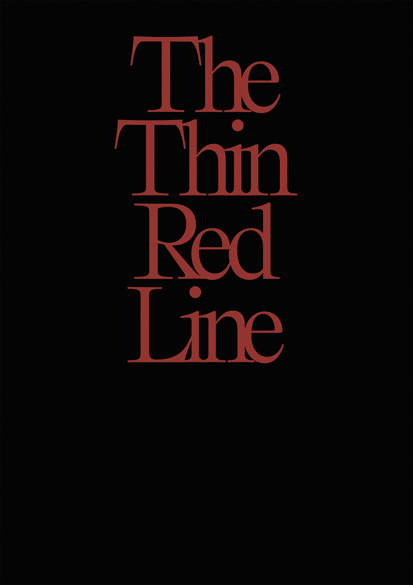 Thin Red 1
